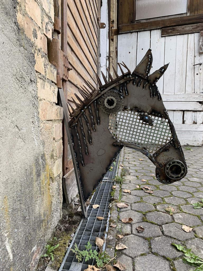 Objekt Pferdekopf, Diana Hessenthaler